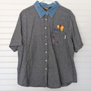 VTG Disney Winnie the Pooh Embroidered Shirt